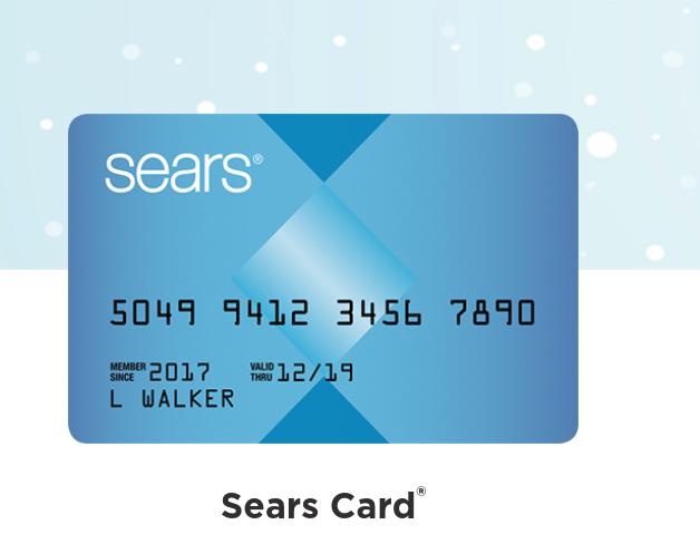 https www searscard com login